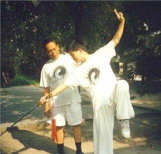 Feng Zhiqiang Teaching Chen Zhonghua Sword 冯志强教陈中华剑