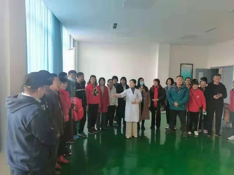 五莲县中医院青山太极示范单位揭牌仪式20201212-7