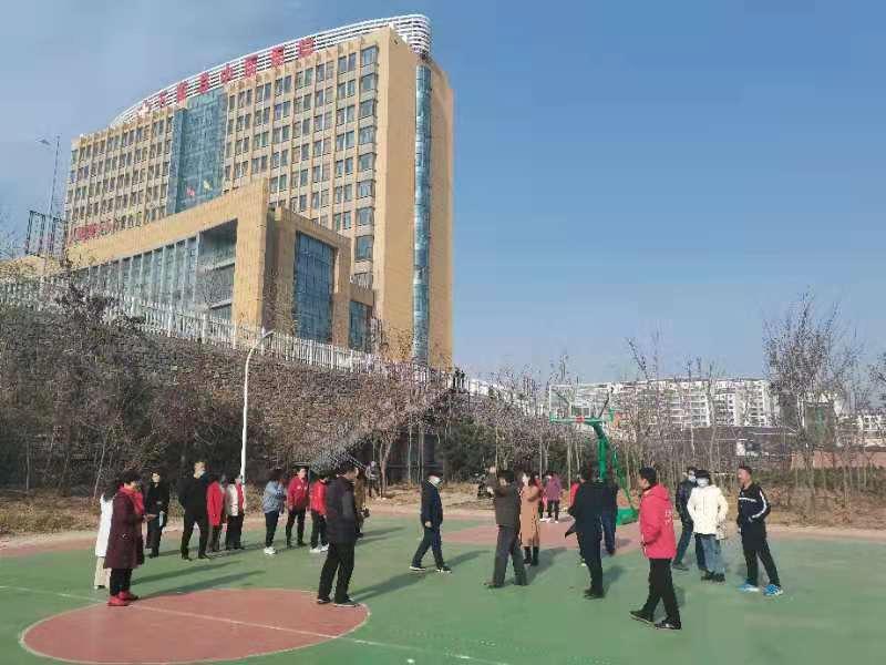 五莲县中医院青山太极示范单位揭牌仪式20201212-8