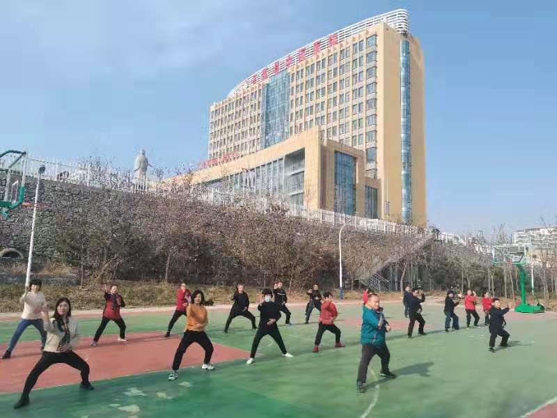 五莲县中医院青山太极示范单位揭牌仪式20201212-9