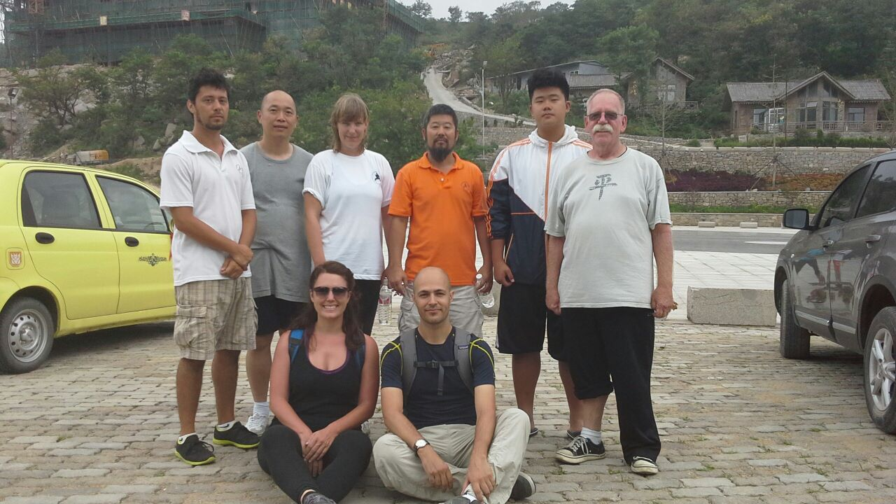 Some international students on Daqingshan in 2013. Do you recognize anyone?