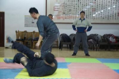 大青山推手训练2013 - 1