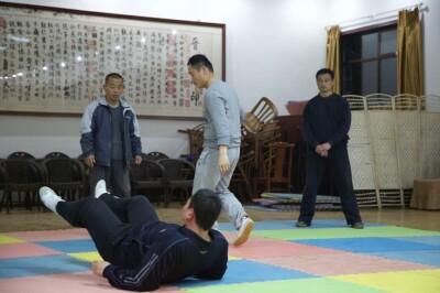 大青山推手训练2013 - 10