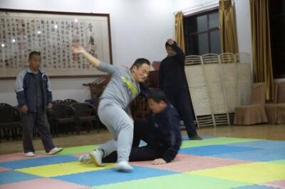 大青山推手训练2013 - 11