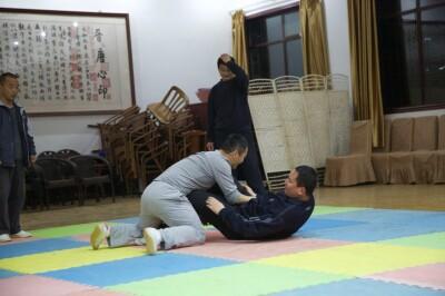 大青山推手训练2013 - 12