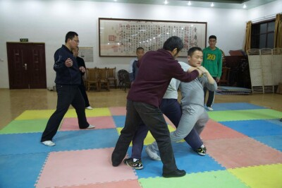 大青山推手训练2013 - 15
