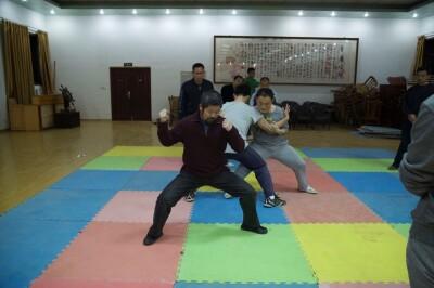 大青山推手训练2013 - 16