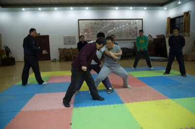 大青山推手训练2013 - 19