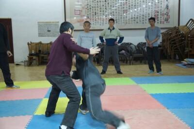 大青山推手训练2013 - 2