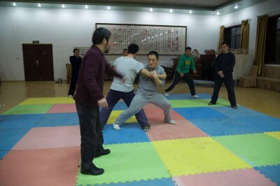 大青山推手训练2013 - 22