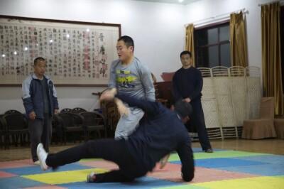 大青山推手训练2013 - 7