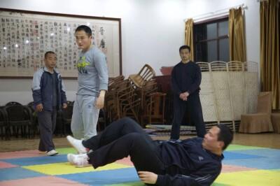 大青山推手训练2013 - 8