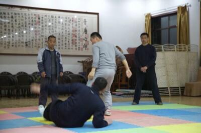 大青山推手训练2013 - 9
