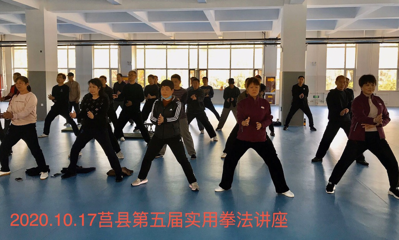 莒县实用拳法讲座20201016-2