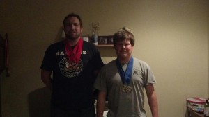levi and jr medals