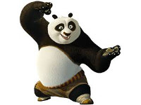 Panda - Kung Fu fighter or cowboy?