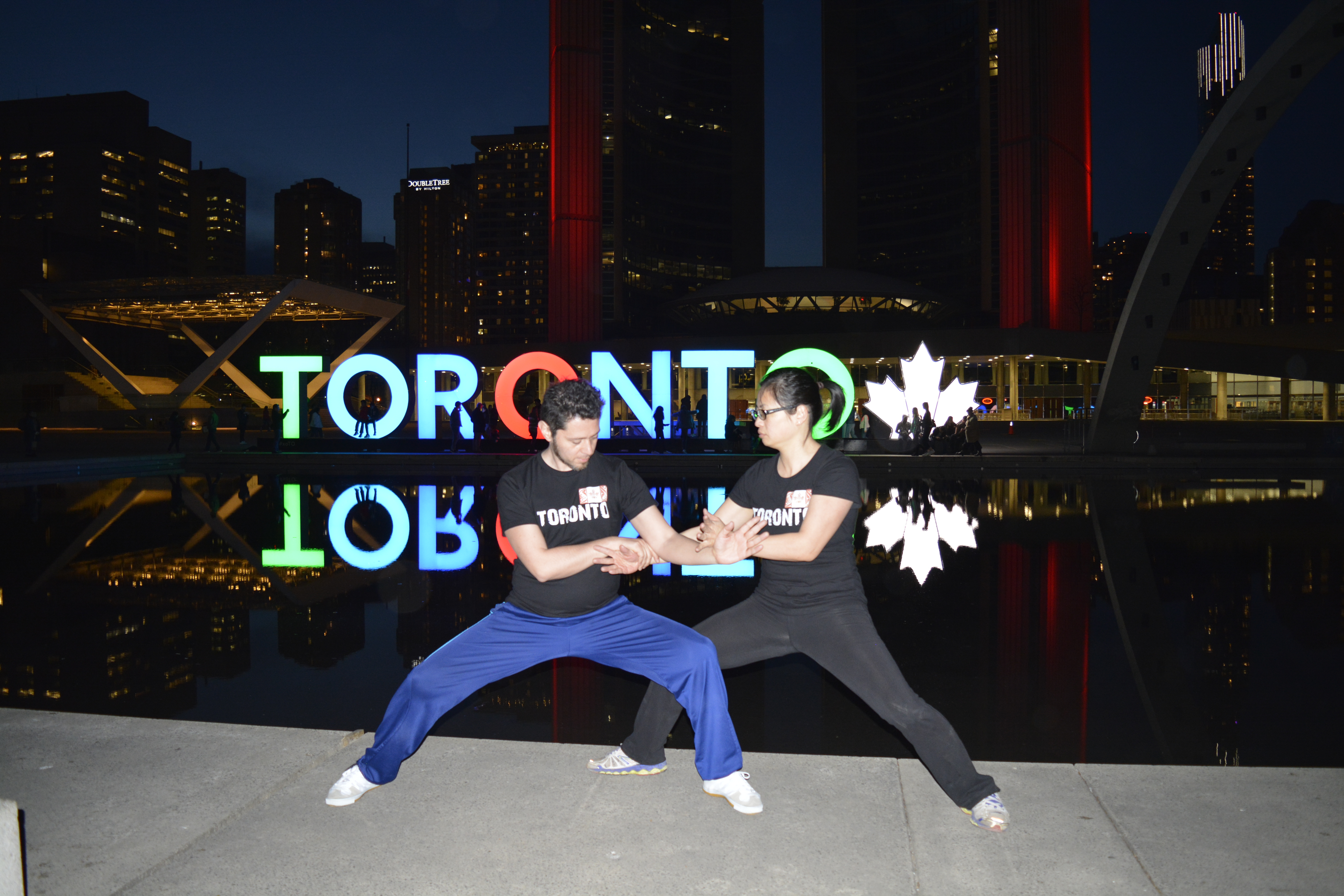 Toronto Two Person posture