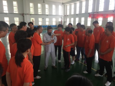 Master Chen teaching in Jimo, Shandong