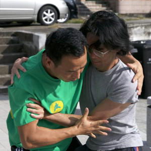 Pang and Nicholas training
