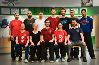 Group photo at the 2nd annual European Practical Method Taijiquan Meetup