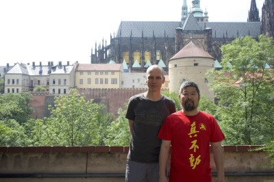 Pavel Codl and Chen Zhonghua in Prague in 2018