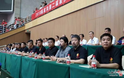 Master Chen Zhonghua was invited as a guest to the competition.