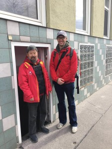 Door to Training Place in Vienna 2019