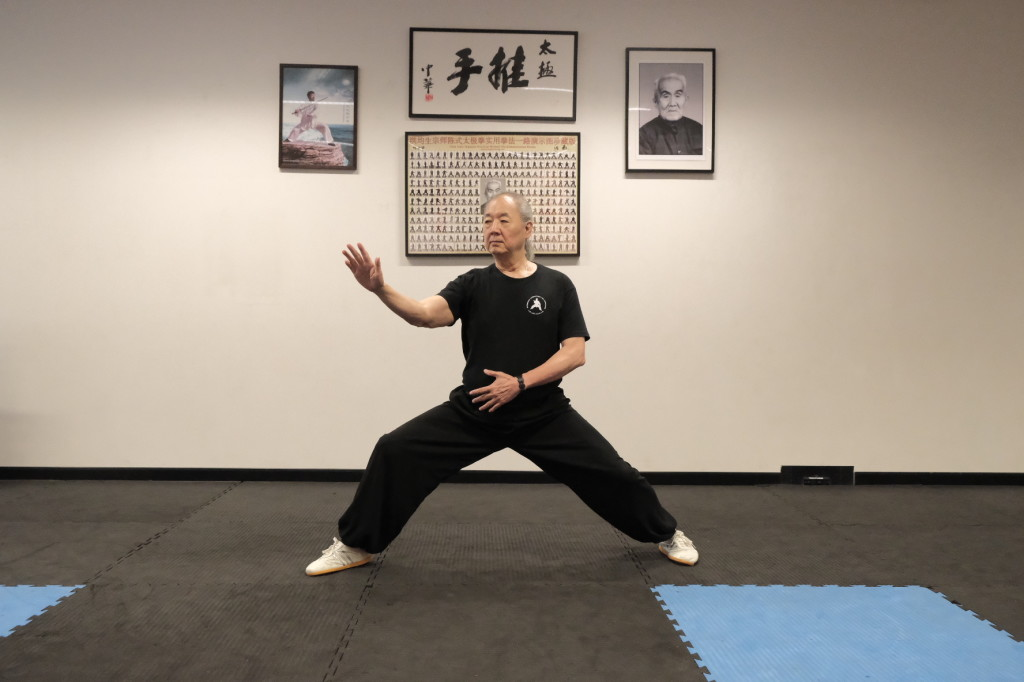 John Saw at Sydney Chen Zhonghua Taiji Academy - 8 March 2020
