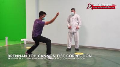 Brennan Toh Cannon Fist Corrections 20200908-1