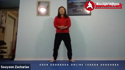 Chen Zhonghua's Online Lesson on 20200924