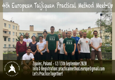 4th European Chen Style Taijiquan Practical Method Meetup. This year in Żywiec, Poland.